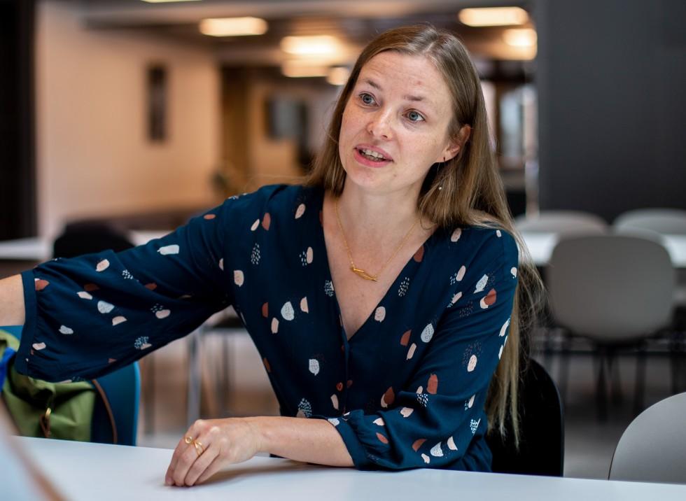 Kunnskapen om at også far kan rammes av fødselsdepresjon, bør få konsekvenser for hjelpeapparatets praksis, mener Eivor Fredriksen. Foto: Nora Skjerdingstad