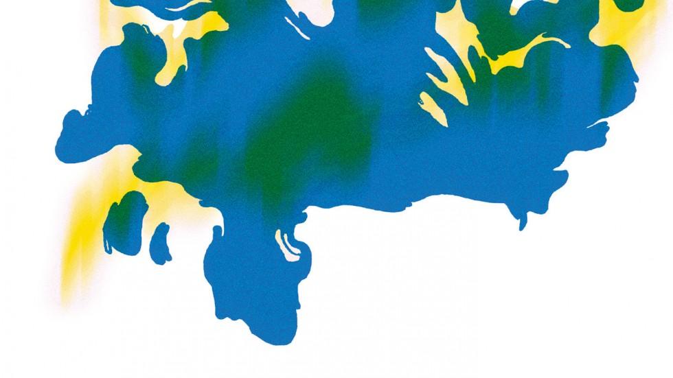 Illustrasjon av Rorschach-mønster, Steph Hope
