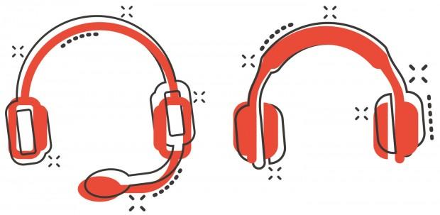 Illustrasjonsbilde av hodetelefoner