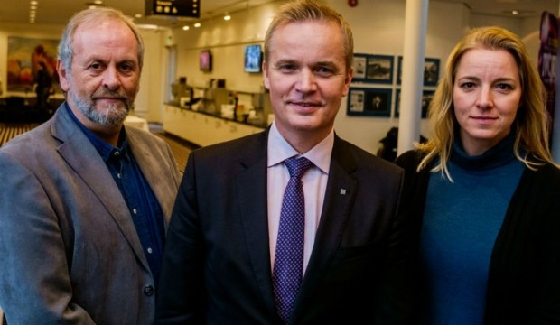 Rune Frøyland, Tor Levin Hofgaard og Heidi Svendsen Tessand. Foto: Psykologforeningen