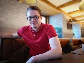 MOTIVERT Andreas Høstmælingen trengte ikke lang betenkningstid da han ble spurt om å stille som presidentkandidat.